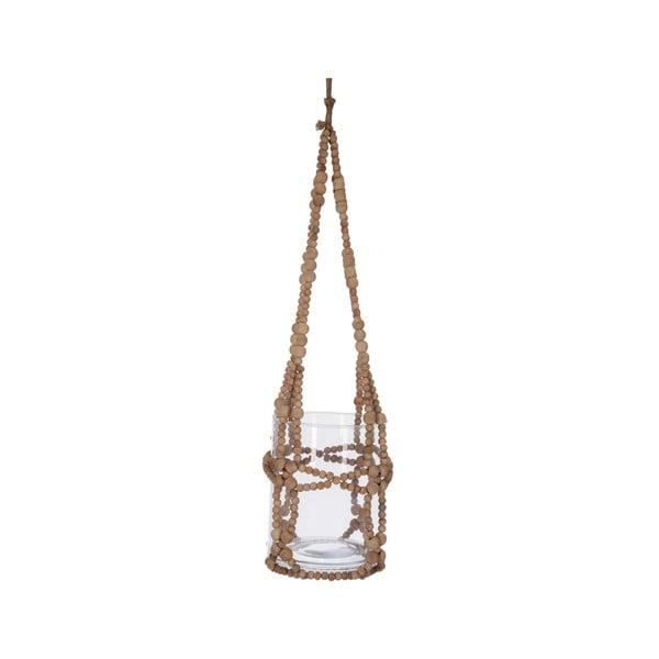 Závěsná lucerna Beads, 17x64 cm