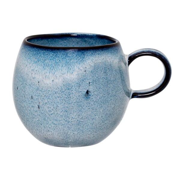 Cană din ceramică Bloomingville Sandrine, 240 ml, albastru