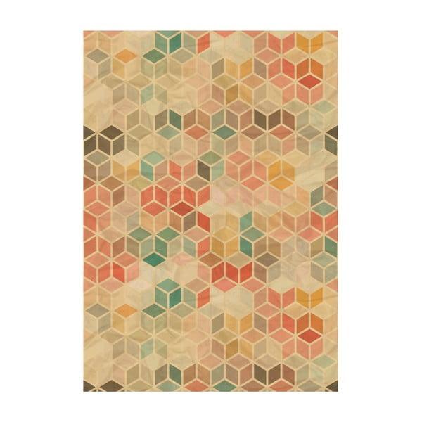 Koberec z vinylu Cubos Vitnage, 120x170 cm