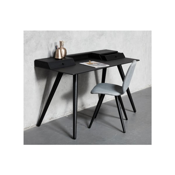 Světle hnědý psací stůl WOOD AND VISION Stick, 136 x 60 cm