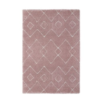Covor Flair Rugs Imari, 80 x 150 cm, roz – crem de la Flair Rugs