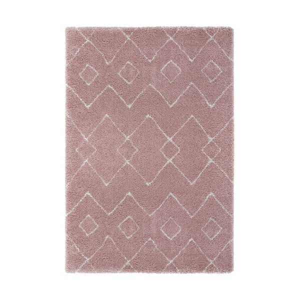Covor Flair Rugs Imari, 120 x 170 cm, roz - crem