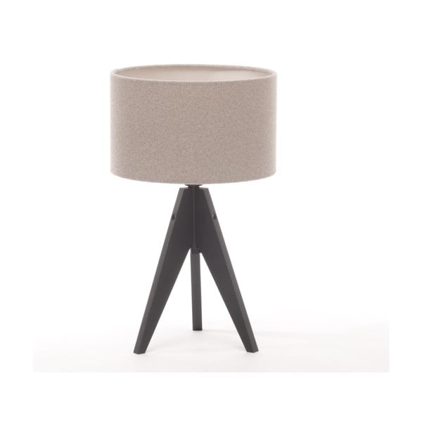 Stolní lampa Arist Cylinder Brown Grey/Black