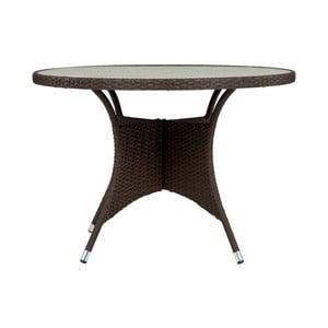 Tmavě hnědý zahradní stůl SOB Garden