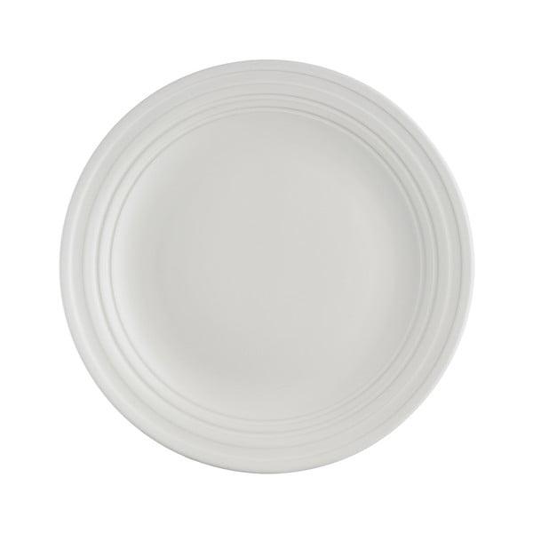 Bílý dezertní talíř z kameniny Mason Cash Original Cane, ⌀ 21,5 cm