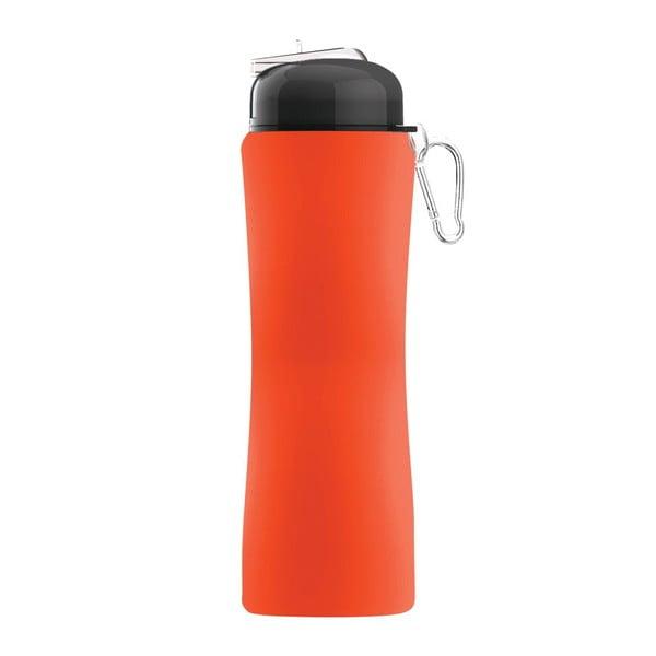 Revoluční sportovní lahev Sili-Squeeze, oranžová, 650 ml