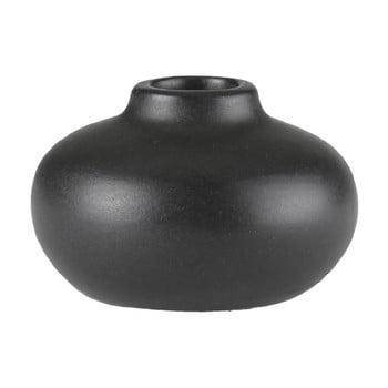 Sfeșnic din ceramică A Simple Mess Telma, ⌀ 8,5 cm, negru de la A Simple Mess