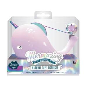 Stojánek na lepicí pásku npw™ Mermaid Narwhal