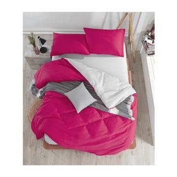 Lenjerie și cearșaf pentru pat dublu Permento Ladida, 200 x 220 cm de la EnLora Home