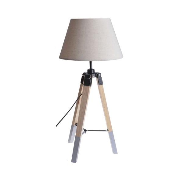 Stolní lampa Grey Foot, 52 cm