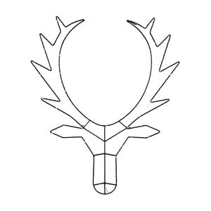 Světelná LED dekorace Best Season Reindeer, výška70cm