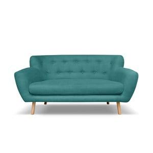 Tmavě zelená pohovka pro tři Cosmopolitan design London