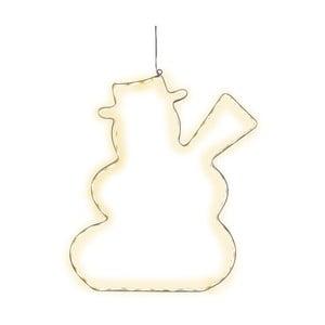 Decorațiune suspendată luminoasă cu LED  Best Season Lumiwall Snowman