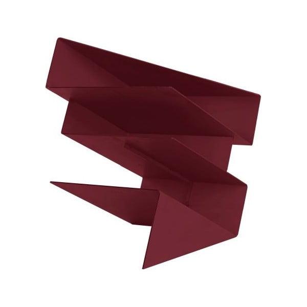 Stojan na časopisy Origami Red
