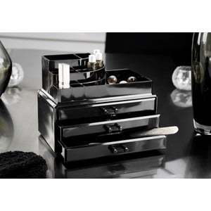 Cutie pentru cosmetice Compactor Black Box, negru