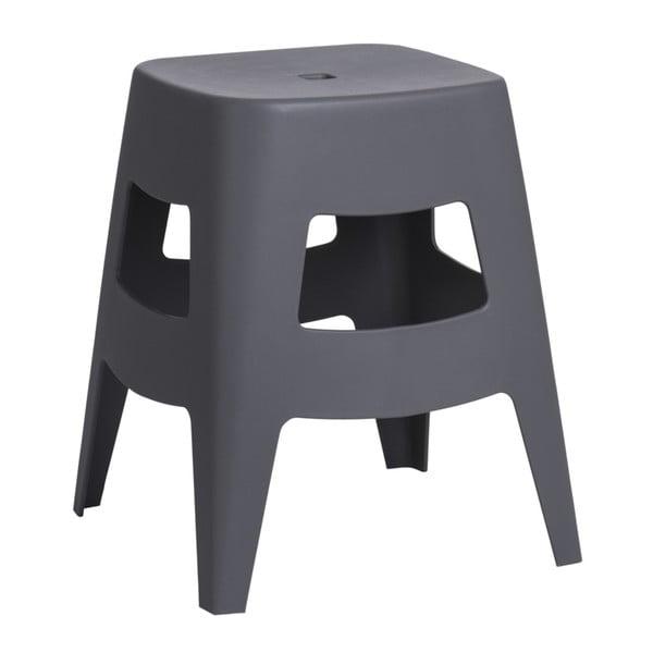 Šedá židlička D2 Tower