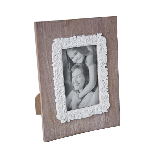 Fából készült díszes képkeret, 19 x 25 cm - Ego Dekor