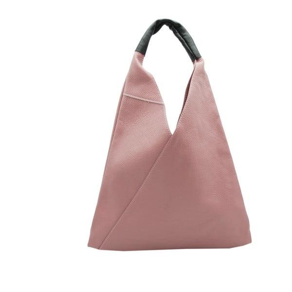 04253bba4677 Karula rózsaszín valódi bőr kézitáska - Andrea Cardone