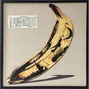Ručně malovaný obraz Vivorum Warhol, 42x42cm