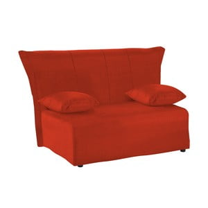 Canapea extensibilă cu 2 locuri 13Casa Cedro, roșu