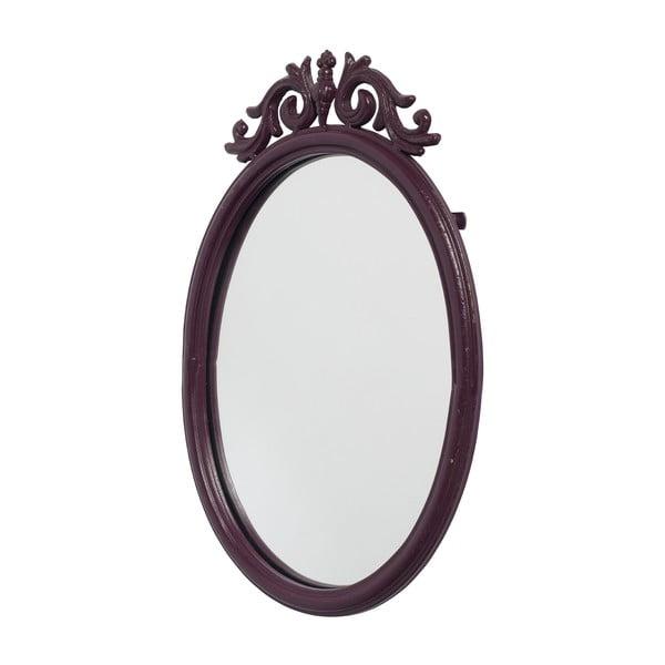 Zrcadlo Baroque, aubergine