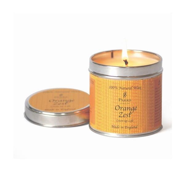 Svíčka Scented Candles, 50 hodin hoření, vůně pomerančové kůry