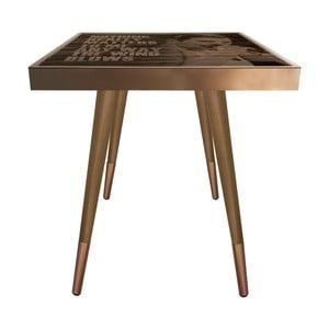 Příruční stolek Caresso Freddie Mercury Square, 45 x 45 cm