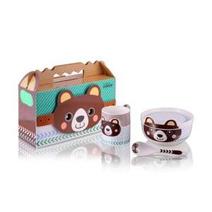 Dětský porcelánový set Teddy