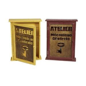 Sada 2 boxů na klíče Antic Line Atelier