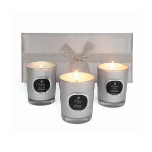 Set svíček Winter Wonders Myrrh, 3 ks