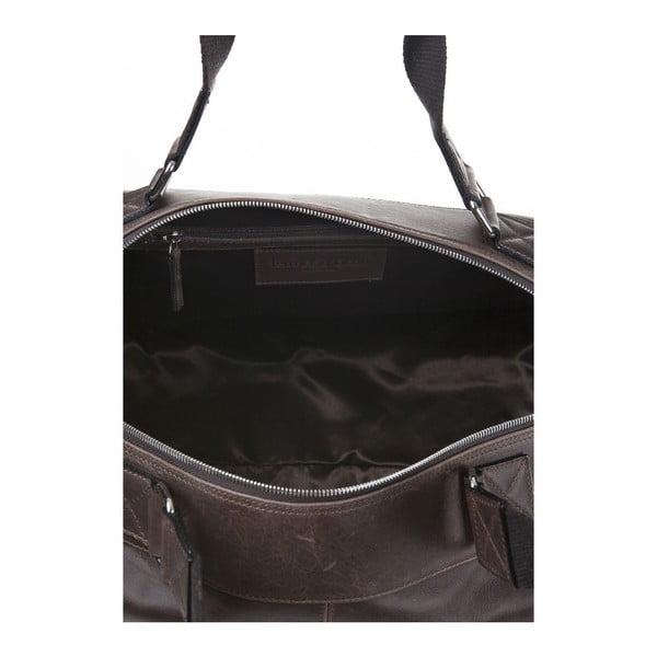 Pánská kožená taška Ferruccio Laconi 102 Brown