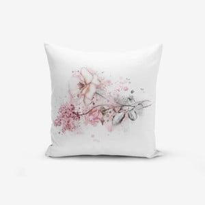 Povlak na polštář Minimalist Cushion Covers Ogea Flower Leaf, 45x45cm