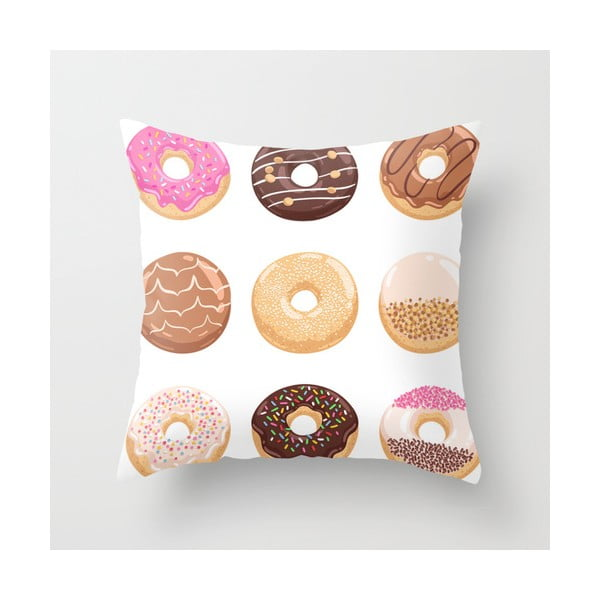 Povlak na polštář Donuts I, 45x45 cm
