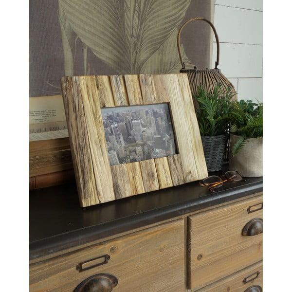 Fotorámeček z jilmového dřeva Orchidea Milano Frame,pro fotografii 17 x 12 cm