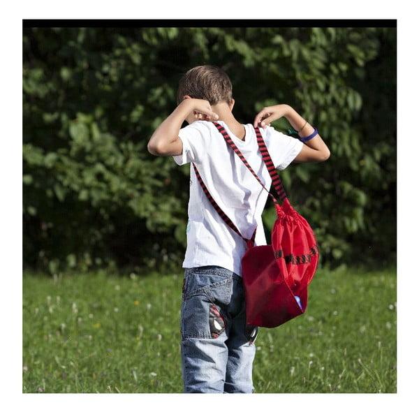 Sáček pro děti do školy, červený