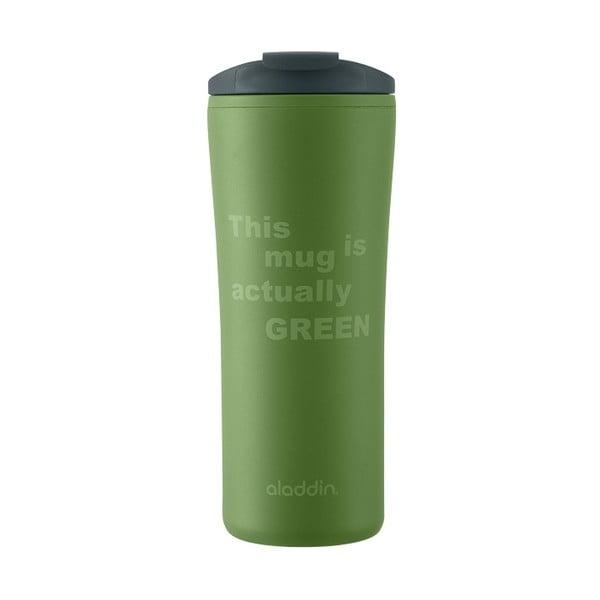 Recyklovaný a recyklovatelný hrnek Papillon, zelený