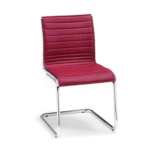 Vínová kancelářská židle bez opěradel Zago Chrono