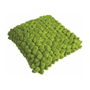 Zelený polštář ZicZac Pebble, 45x45cm