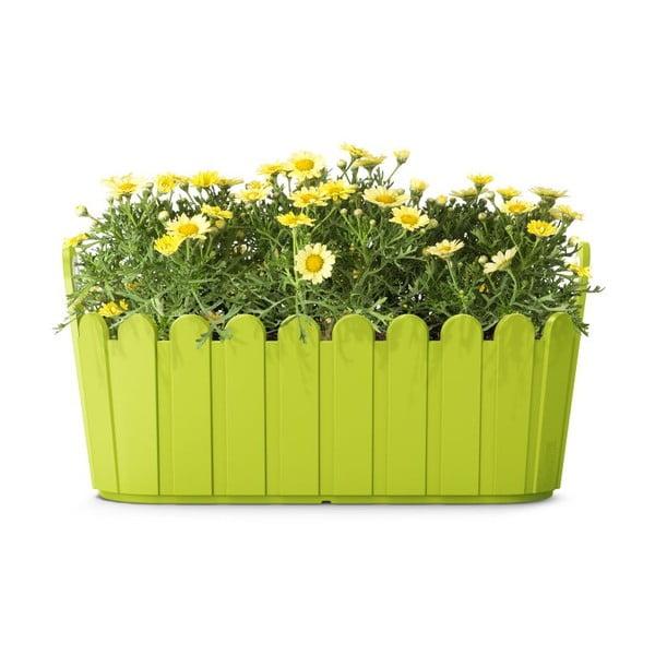 Květináč Jardiniére Green, 39x15x19 cm