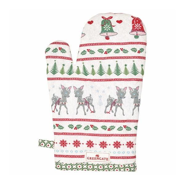 Bílá kuchyňská rukavice Green Gate Bambi