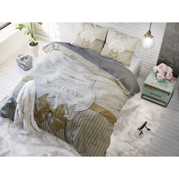 Povlečení Sweet Dreams 200x220 cm, béžové