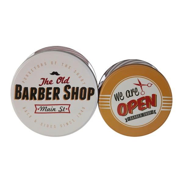 Barber Shop ón tárolódoboz készlet, 2 részes - Premier Housewares