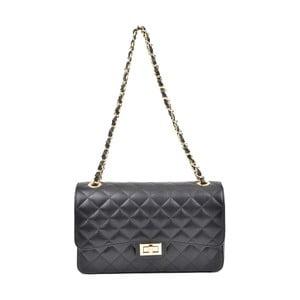 Černá kožená kabelka Isabella Rhea Tommaso