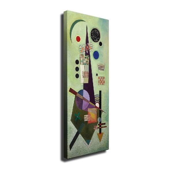 Cubism vászon fali kép, 30 x 80 cm