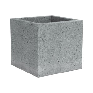 Obal na květináč Stone, 30 cm, šedý