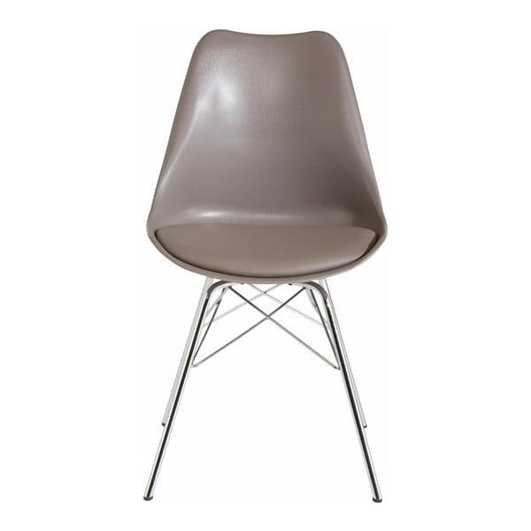 Sada 2 šedobéžových jídelních židlí Støraa Jenny
