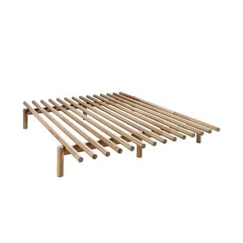 Cadru pat din lemn de pin Karup Design Pace Natural, 160 x 200 cm de la Karup Design