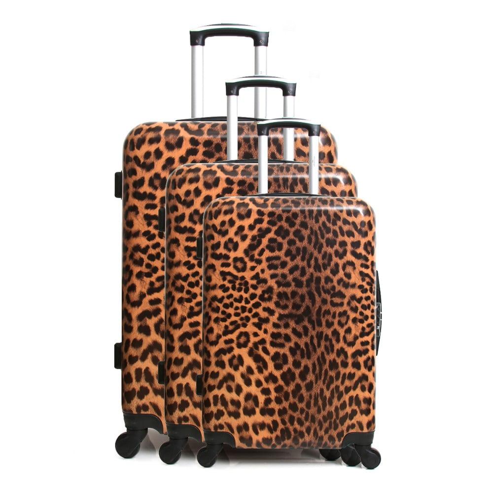 Sada 3 cestovních kufrů na kolečkách Infinitif Lubeck