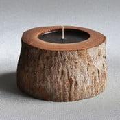 Palmová svíčka Legno Black Bee s vůní vodního květu, 40 hodin hoření