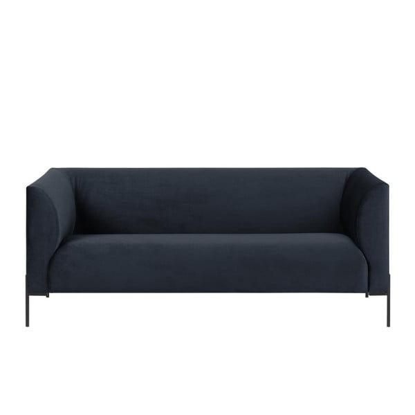 Canapea cu 2 locuri Actona Ontario, albastru închis